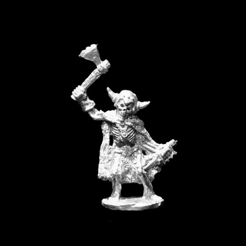 LL21604 Undead Skeletal Warrior w/ Axe