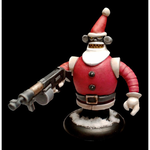 St. Nick Bot 3000 w/ Machine Gun