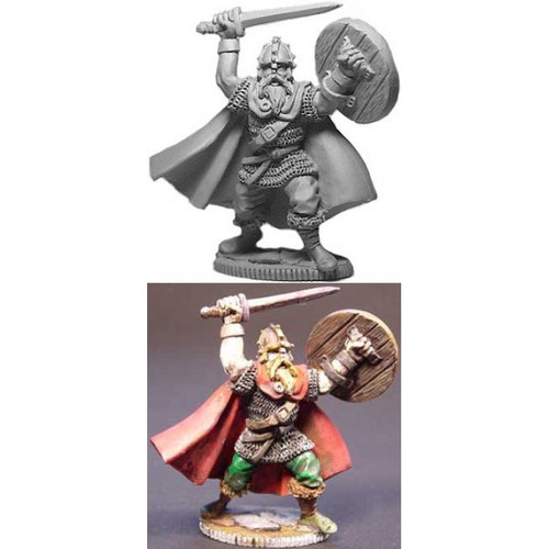 The Viking King is sculpted by Jim Johnson in 28mm heroic scale and the model is supplied unpainted.