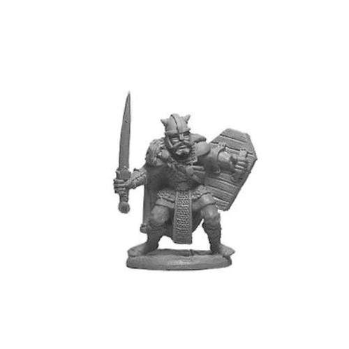 LL03058A Viking Male Warrior w/ Sword & Shield