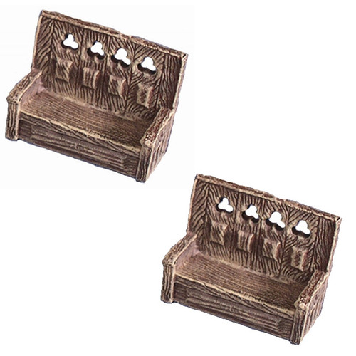 ACID060 Small Gothic Pew (2 pcs)