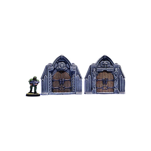 ACC018 Gothic Gates (2 pieces)