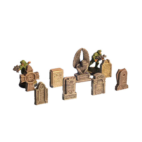 ACGV002 Graveyard Headstones