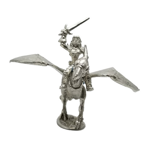 LL00010  Female Barbarian Pterodactyl Rider