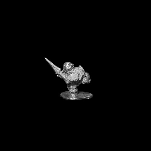LL20606 Dwarf Hero w/ Sword Kicking Down the Door