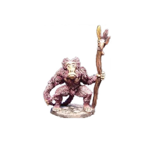 LL03048 Baboon Shaman supplied unpainted