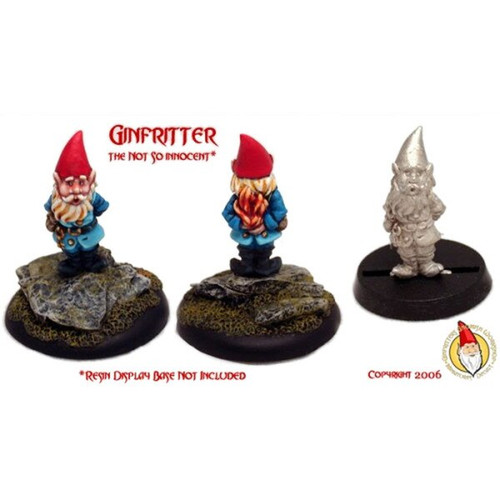 GNOME002 Ginfritter the Not So Innocent Gnome