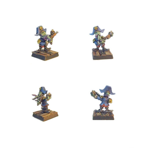PIR002 Squidbeard - Illithkin Pirate Capitain