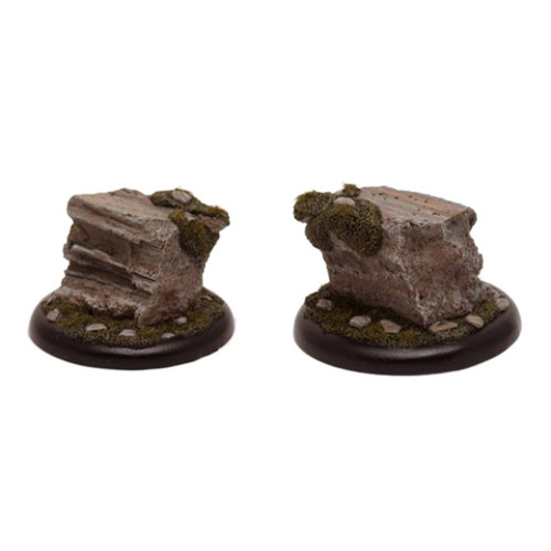GFB006 Large 50mm Round Cliff Formation Display Base
