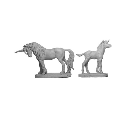 LL00203 Unicorn Mare & Foal
