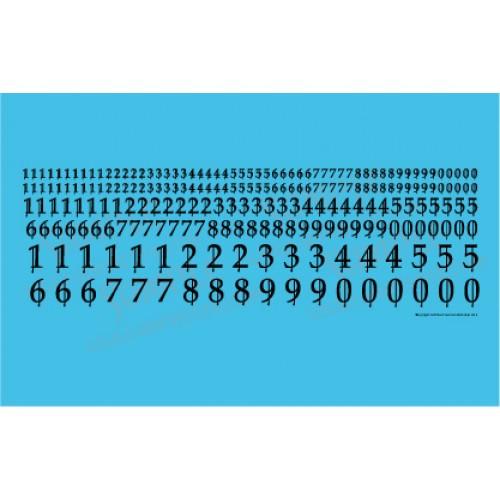 High Gothic Numerals