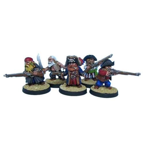OADW301 Dwarf Scruntie Pirates (5)