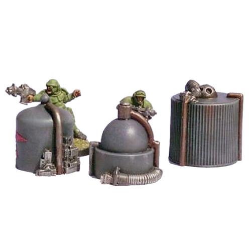ACSF003 Cryo Tank, Fuel Processor & Oil Tank