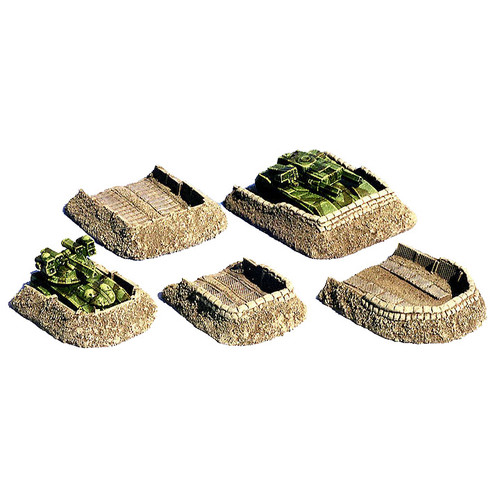 AC2002 6mm scale (1/285 scale) Vehicle Emplacements