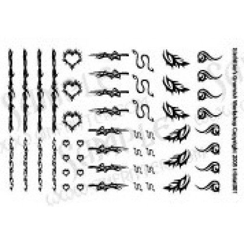 Tribal Tattoo Decals