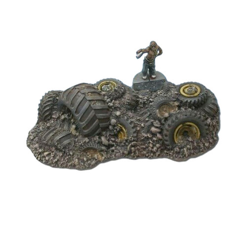 ACST002 Medium Scrappers Tire Pile #2