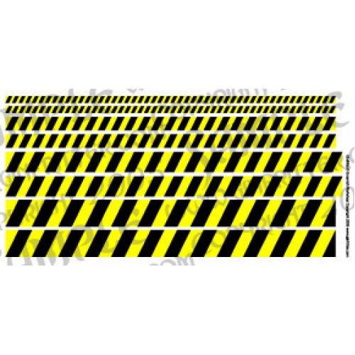 Warning Stripe Decal