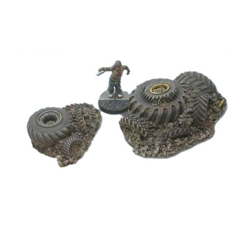 ACST001 ScrapTech Tire Pile #1 (2 Pcs)