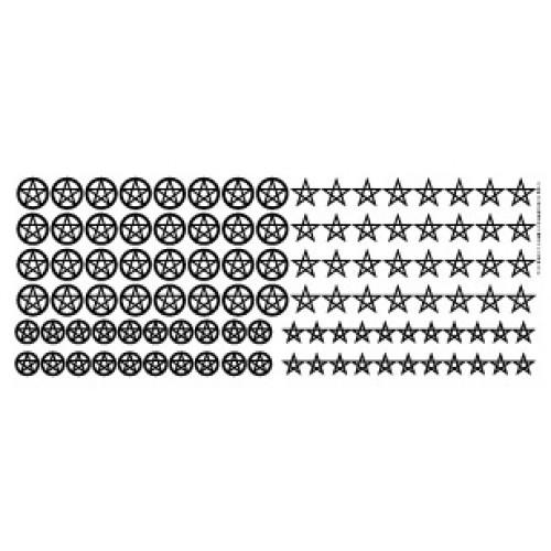 Pentagram Decal