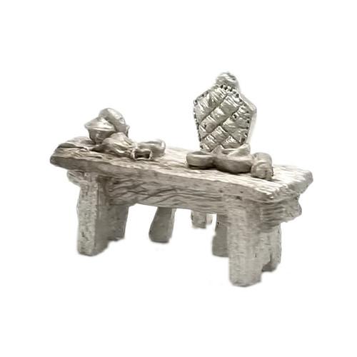ACID012 Alchemist Workbench and Ornate Chair
