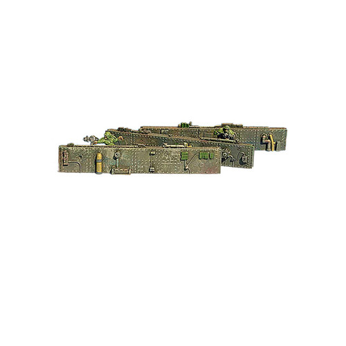 "ACW011 6"" Long High Tech Walls (3 pcs)"