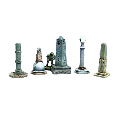 ACGV007 5 Graveyard Monuments