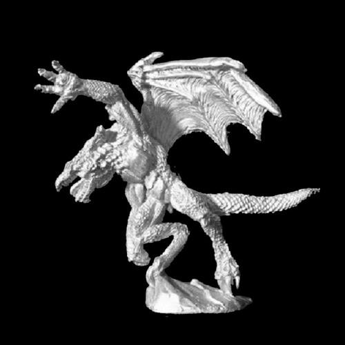 LL08020 Biped Male Dragonkin Dragon #1