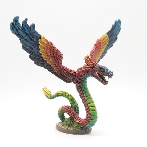 LL08018 Winged Feathered Serpent