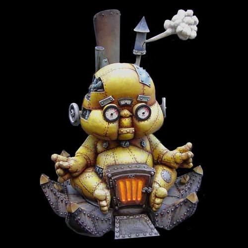 ACWS002 Steam Buddha