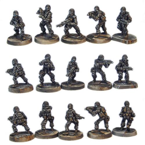 TAC001 Five Man S.W.A.T. Team