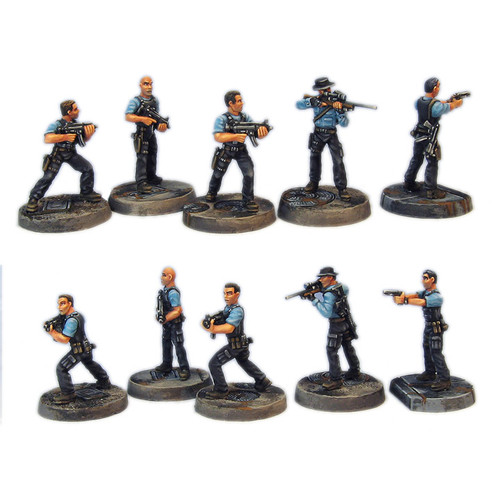 TAC003 Five Man Narcotics Team Set