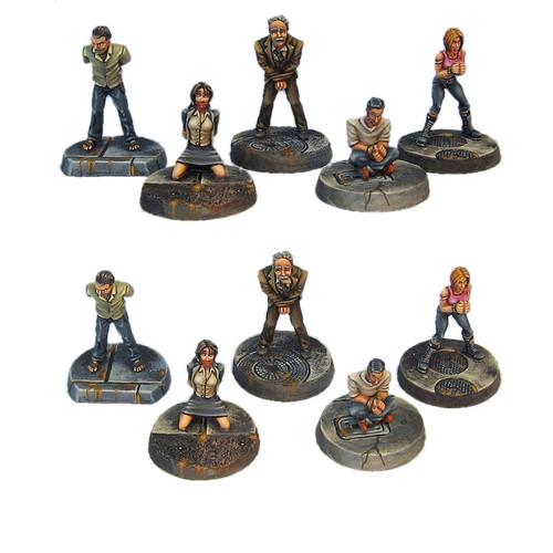 TAC004 Five Person Hostage Set