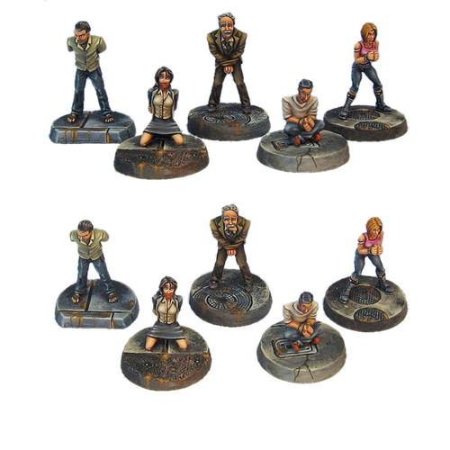 TAC004 Five Person Hostage Set