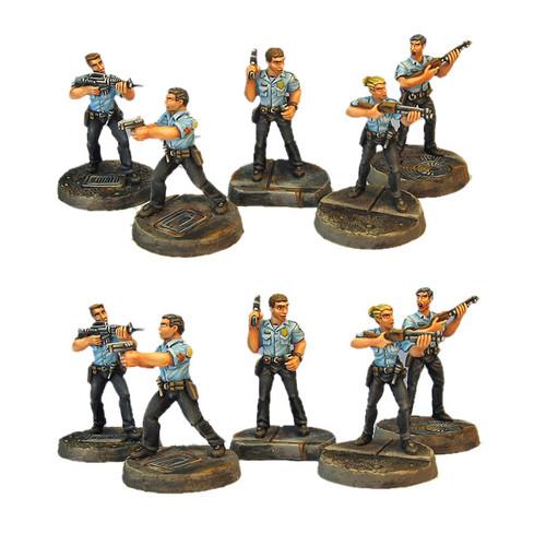 TAC005 Five Person Rookie Cops Set
