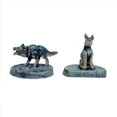 TAC006 K9 Police Dogs - German Shephards