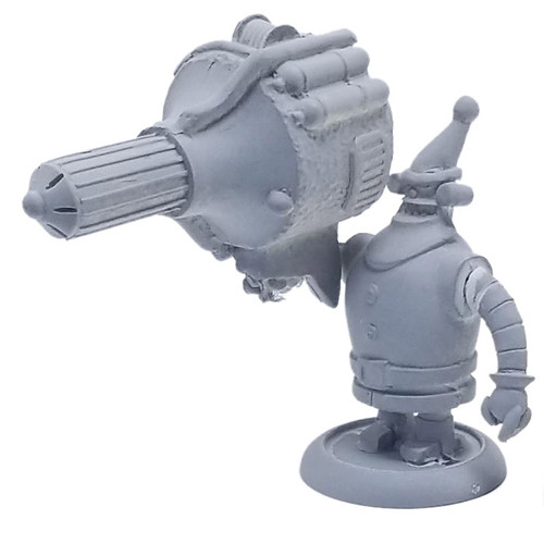 Robot St. Nick with Missile Launcher
