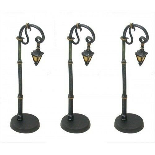 ACCS016 Curved Neck Victorian Street Lamp (3 pcs)