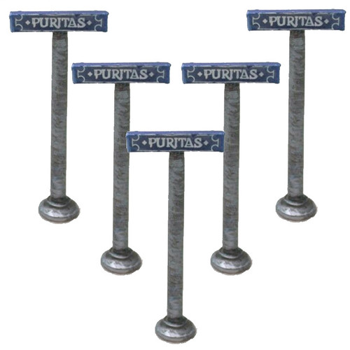 ACCS012 Street Signs (5 pieces)