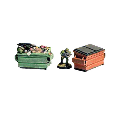 ACCS001 Dumpsters (2 pieces)