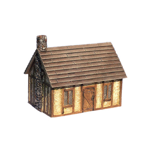 "ACMV1211 3"" x 4.5"" Stucco Cottage"
