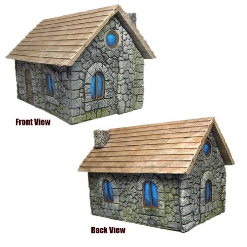 "ACMV1216 3"" x 4.5"" Stone Cottage"