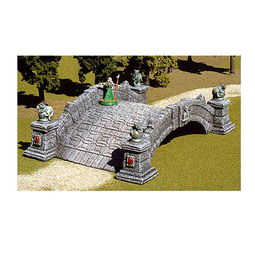 ACBR003 Stone Bridge with Gargoyles