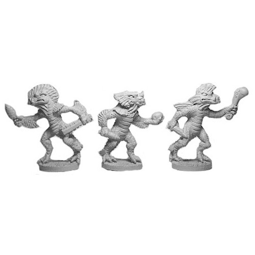 LL03034 Dragonkin Nobles- three figures.