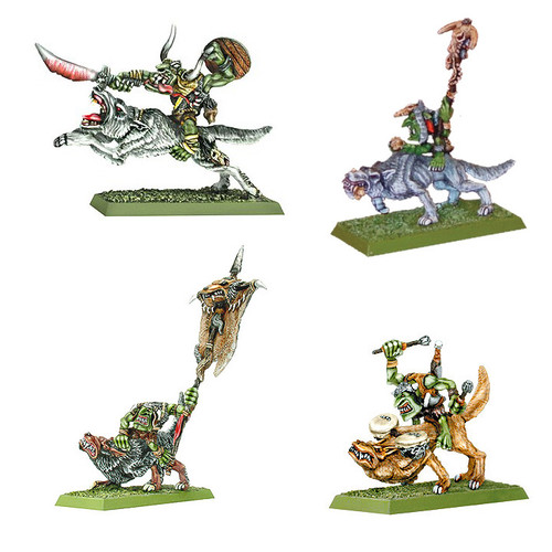 DR410 Goblin wolf Rider Command