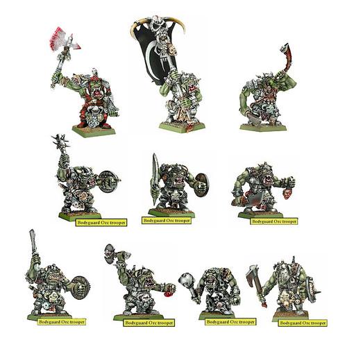 DR120 Urgzahk Bodyguard Orcs