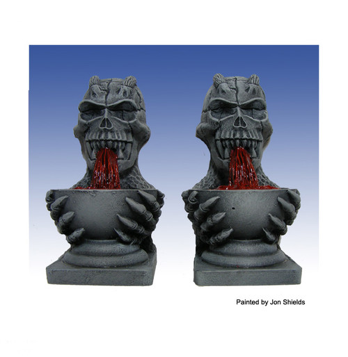 10010 Skull Fountains