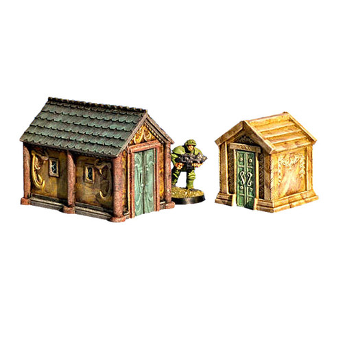 ACGV004 Mausoleums (2 pieces)