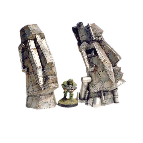 ACTT003 Steampunk Easter Island Heads