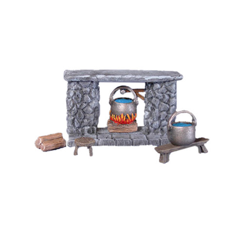 ACID001 Fireplace Set