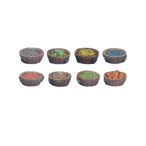 ACID050 Bushel Baskets of Food (8pcs)